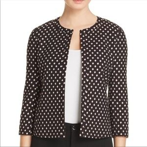 Kate Spade jacket diamond jacquard size 0 NWT